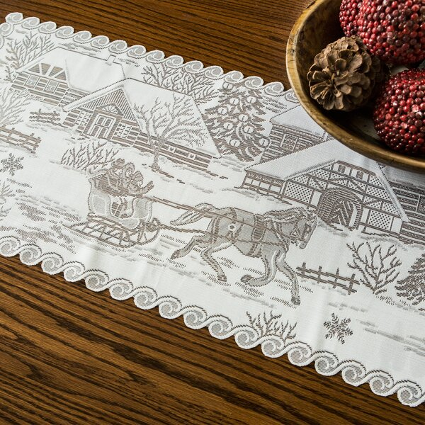 Charlesford Sleigh Ride Runner by August Grove