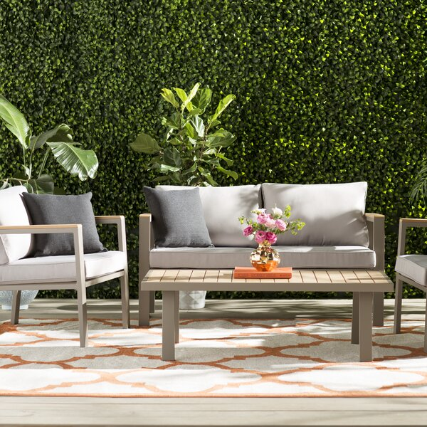 Aeliana 4 Piece Sofa Set by Willa Arlo Interiors