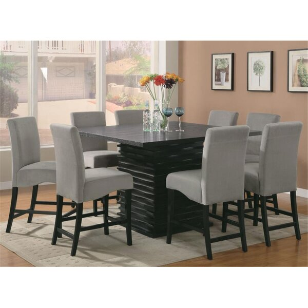 Duckworth 9 Piece Counter Height Dining Set by Orren Ellis