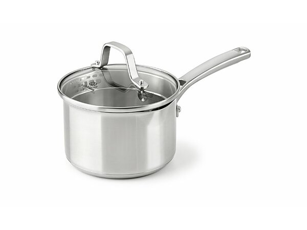 Stainless Steel Saucepan with Lid by Calphalon