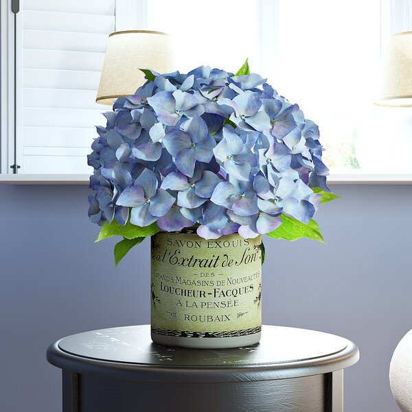 Blue with Lavender Hydrangea Cluster by Ophelia & Co.