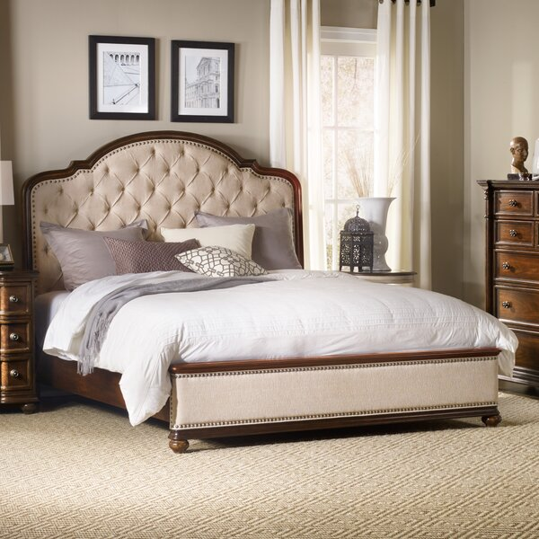 Leesburg Upholstered Standard Bed by Hooker Furniture
