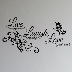 Live Love Laugh Family Wall Decal
