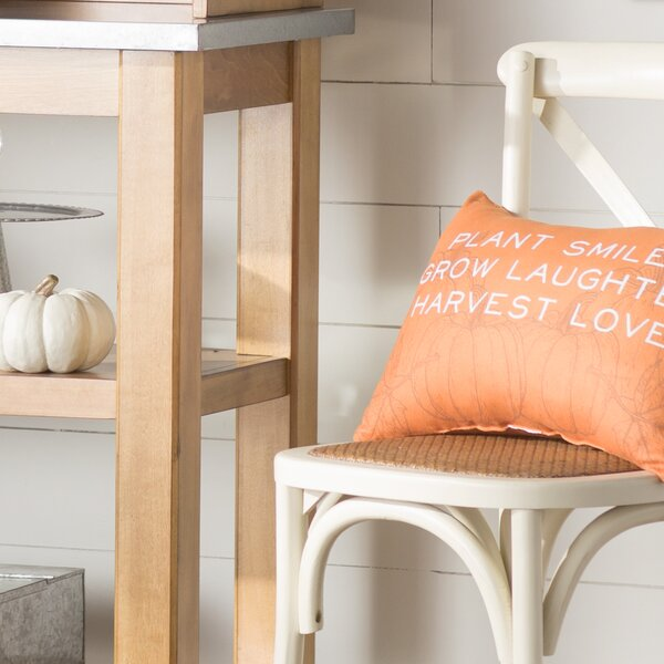 Harvest Love Lumbar Pillow by August Grove