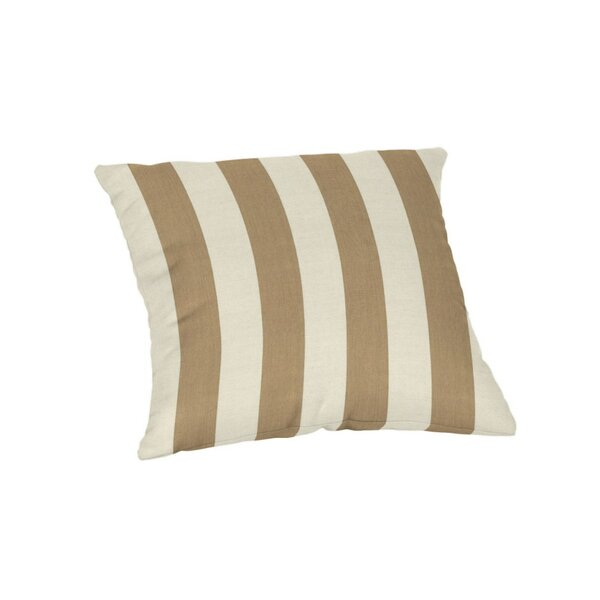 Cantwell Sunbrella Stripe Outdoor Throw Pillow by Breakwater Bay