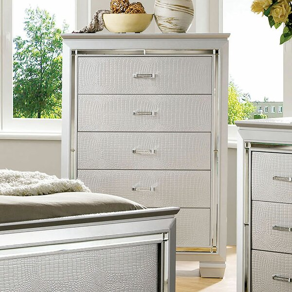 Bokan Lake 5 Drawer Chest by Rosdorf Park