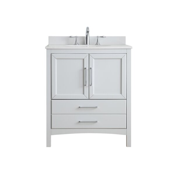 Joyce 30 Single Bathroom Vanity Set by Ove Decors
