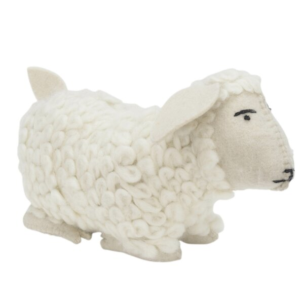 Hand Felted Wool Door Stop by Arcadia Home