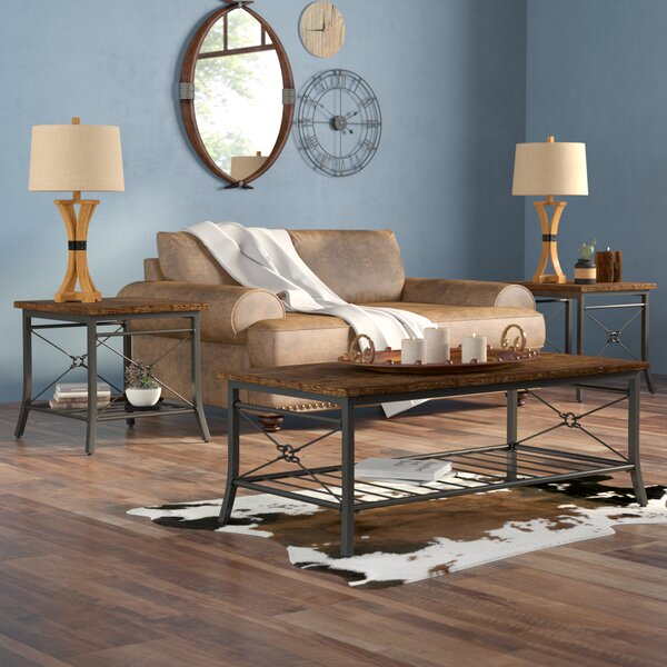 Jackeline 3 Piece Coffee Table Set by Mistana