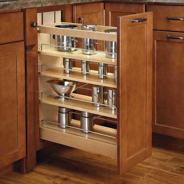 Pull-Out Wood Base Cabinet Organizer by Rev-A-Shelf