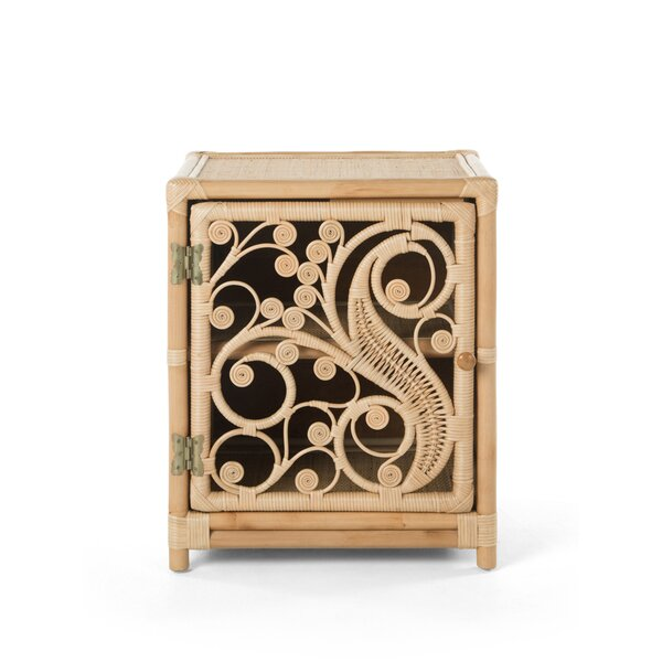 Rosana Peacock Nightstand by Mistana