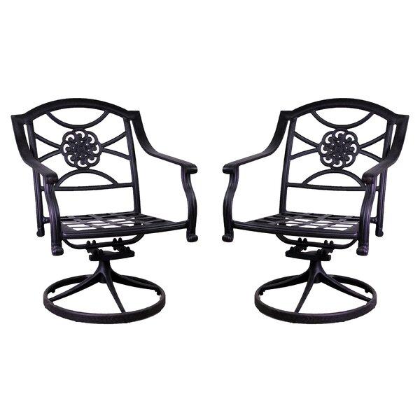 Ross Rocking Chair (Set of 2) by Fleur De Lis Living