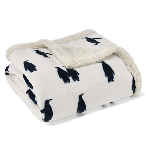 Emperor Penguin Throw by Eddie Bauer