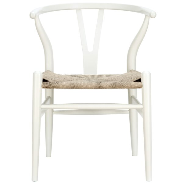 #2 Dayanara Solid Wood Dining Chair By Mistana Wonderful