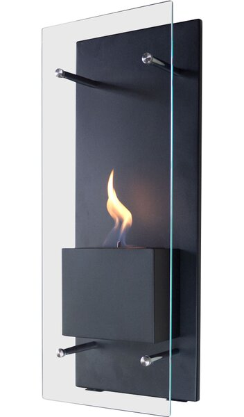 Canello Wall Mounted Bio-Ethanol Fireplace by Nu-Flame