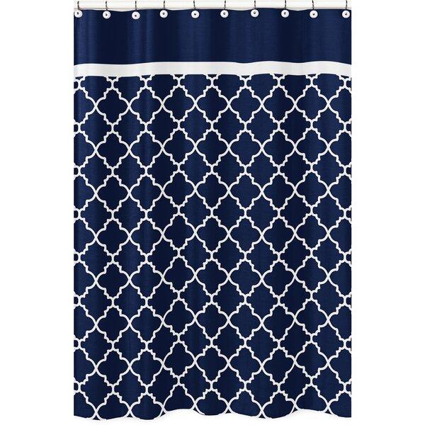 Trellis Brushed Microfiber Shower Curtain by Sweet Jojo Designs