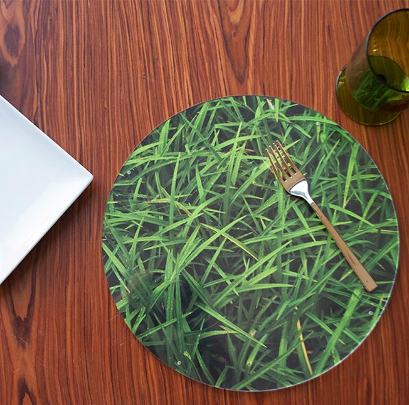 Nature Tondere Placemat (Set of 4) by Victoria Lekach