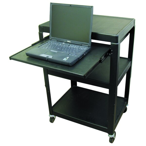 AV Cart with Pull-Out Shelf by Hamilton Buhl