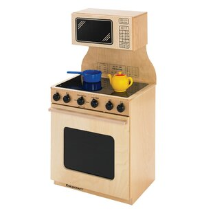 Beau Childcraft Stove And Microwave Combo Kitchen Set | Wayfair
