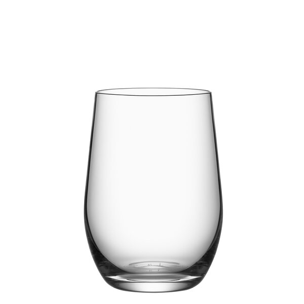 Morberg 9 oz. Crystal Every Day Glass (Set of 4) by Orrefors