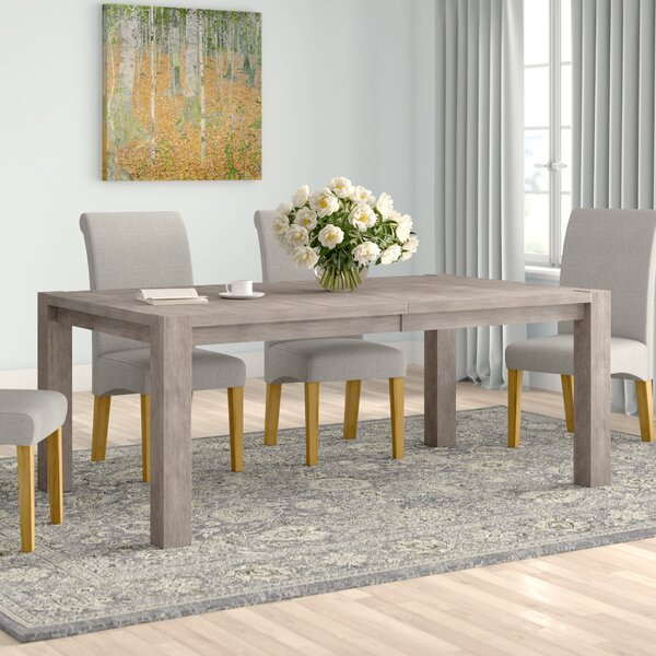 Algona Extendable Dining Table by Foundry Select