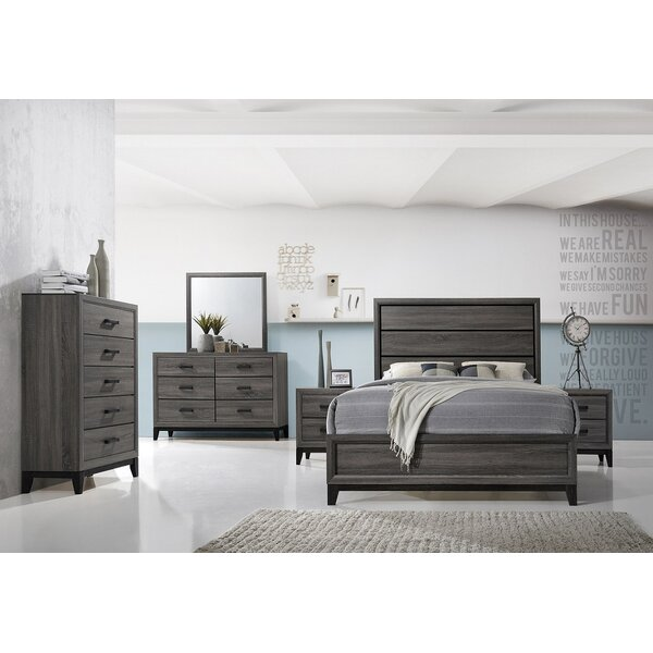 Wallis Standard Bed by Ebern Designs