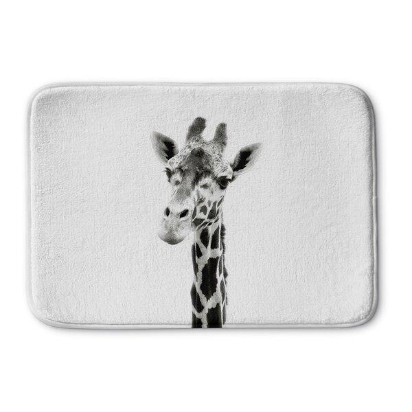 Naida Giraffe Memory Foam Bath Rug