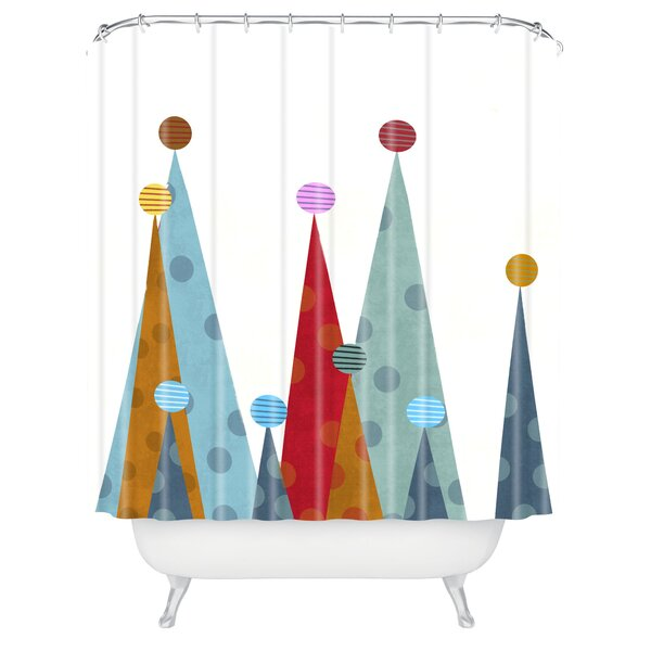 Brian Buckley Winter Peaks Shower Curtain by Deny Designs