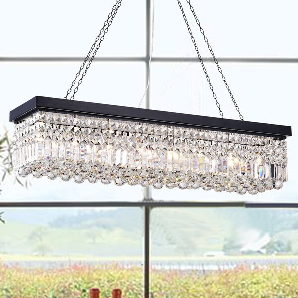Gracelyn 8-Light Kitchen Island Pendant by Rosdorf Park