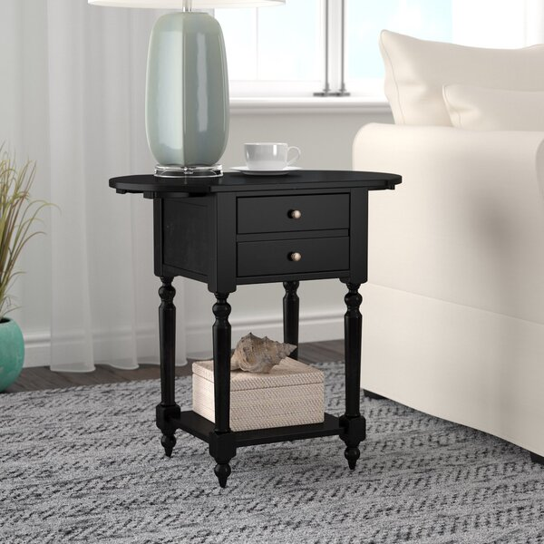 Tolland End Table By Breakwater Bay