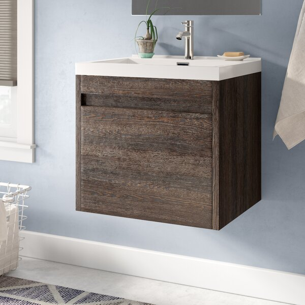 Rosas Modern 24 Single Bathroom Vanity Set by Wrought Studio