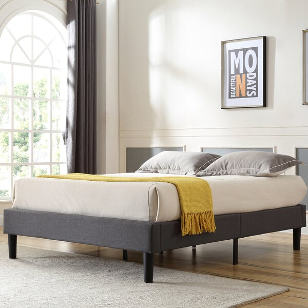 Neblett Upholstered Platform Bed by Ebern Designs