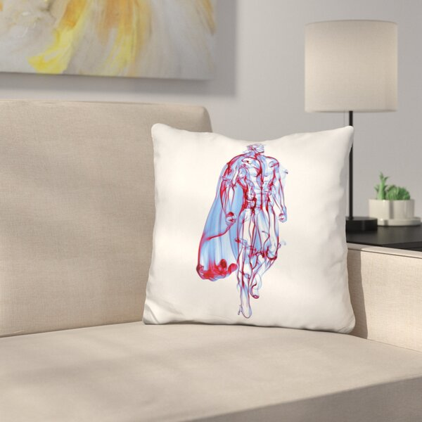 Superman Throw Pillow by East Urban Home