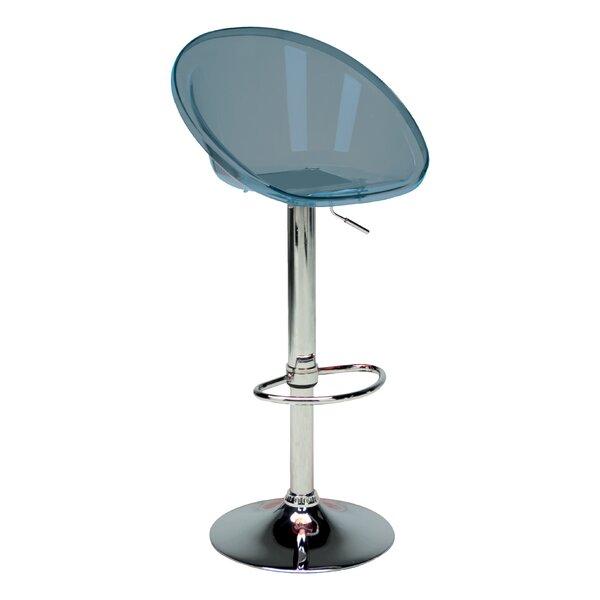 Laverne Adjustable Height Swivel Bar Stool (Set of 2) by Orren Ellis