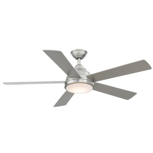 52 Celentano 5 Blade LED Ceiling Fan with Remote by Wrought Studio
