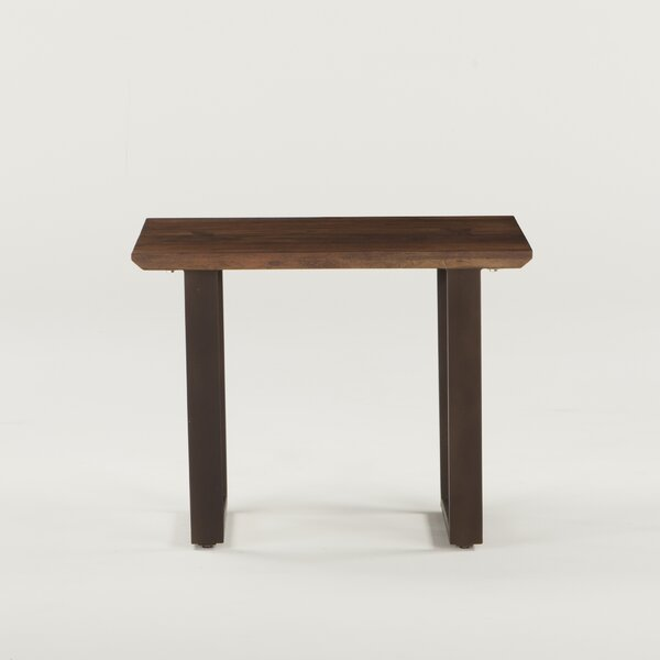 Clapp Acacia Wood End Table by Gracie Oaks Gracie Oaks