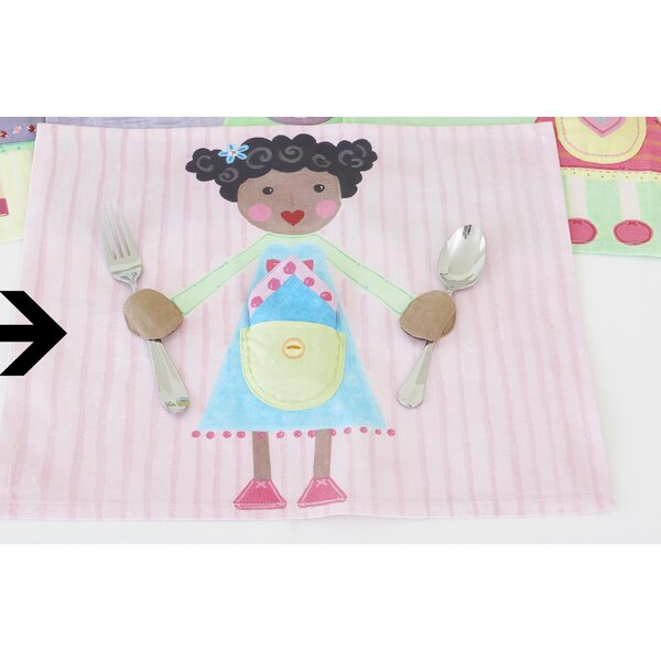 Girl Placemat by The Little Acorn