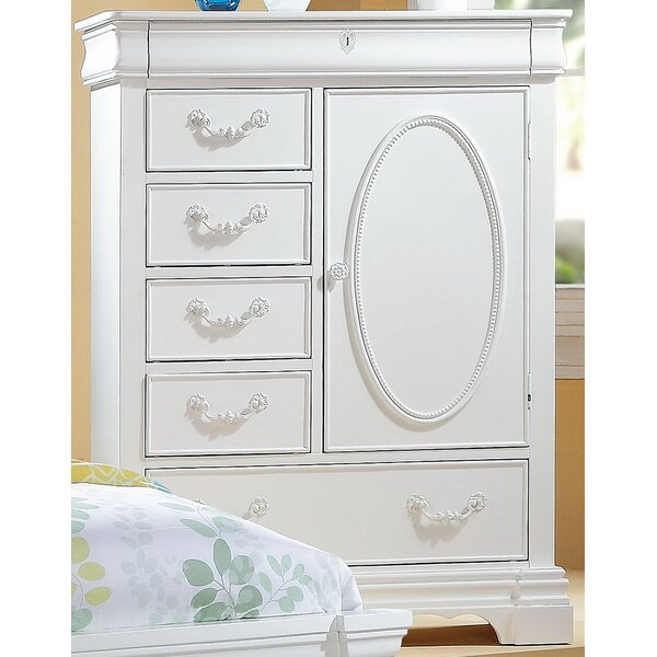 Deloris 6 Drawer Chest by Harriet Bee