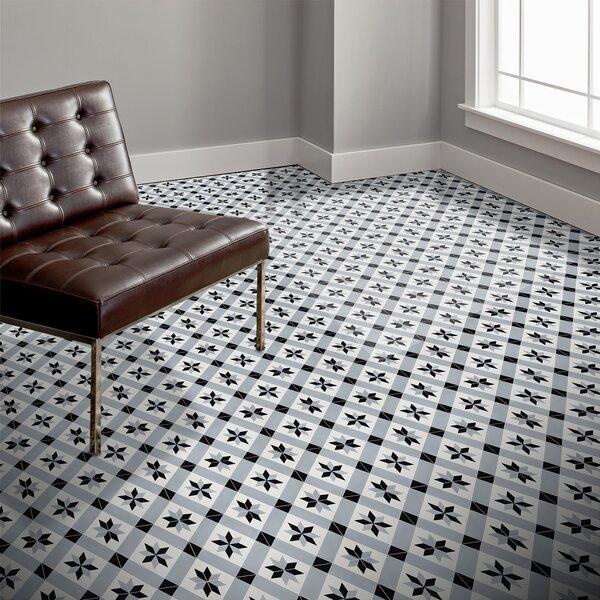 Kotoubia Handmade 8 x 8 Cement Field Tile