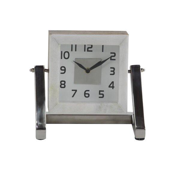 Modern Analog Tabletop Clock by Orren Ellis