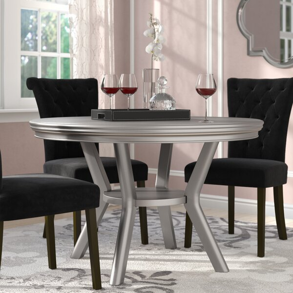 Kacy Solid Wood Dining Table by Willa Arlo Interiors