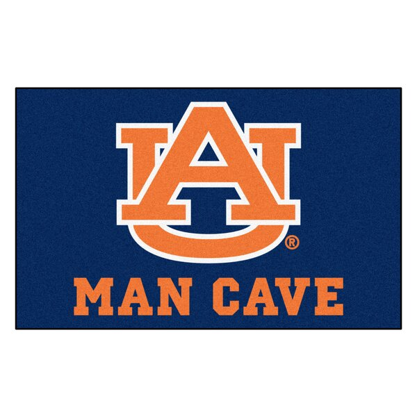 Collegiate NCAA Auburn University Man Cave Doormat by FANMATS
