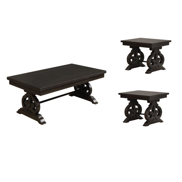 Alcala 3 Piece Coffee Table Set by One Allium Way