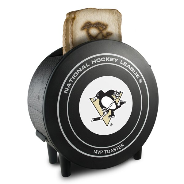 2-Slice Nhl Protoast Mvp Toaster By Pangea Brands.