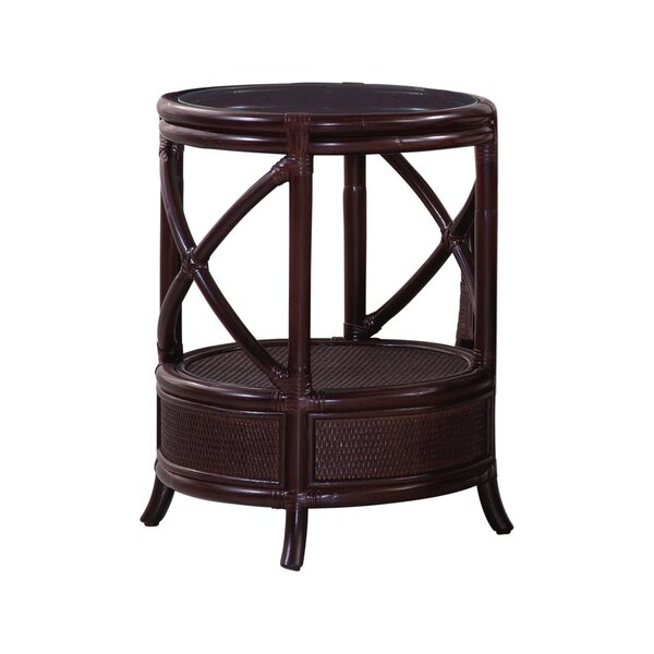 Santiago Round End Table By Braxton Culler