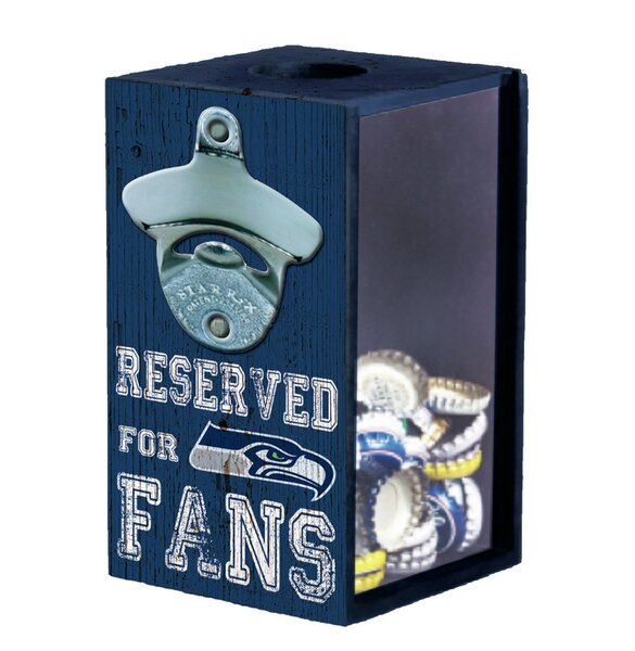 NFL Bottle Opener Cap Caddy by Evergreen Enterprises, Inc