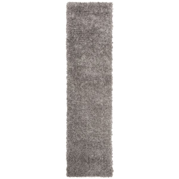 Chertsey Charcoal Area Rug by Ebern Designs