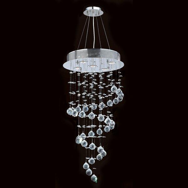 Leiser 5-Light Chandelier by Orren Ellis