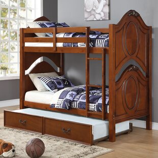 Ryals Twin Bunk Bed with Trundle By Harriet Bee