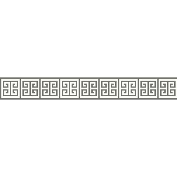 Border Portfolio Ii Meander 15 X 4 5 Geometric Border Wallpaper By York Wallcoverings.